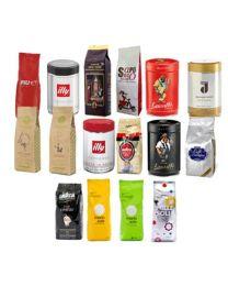 Echantillon café en grains 16 types ( 4 kilo )