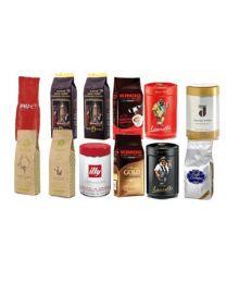 Echantillon café en grains 12 types (3 kilo)