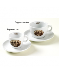 Guiliano caffe cappuccino tasse et sous tasse 'espresso italiano'
