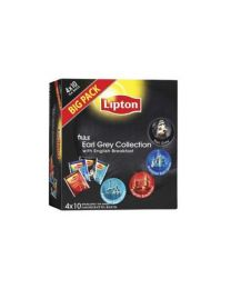 Lipton Earl Grey collection 4x10pc