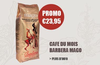 cafe en grains Barbera Mago