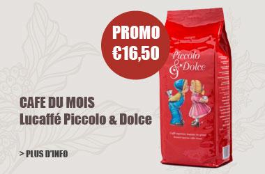 cafe en grains Lucaffé Piccole Dolce