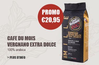 cafe en grains Vergnano extra Dolce